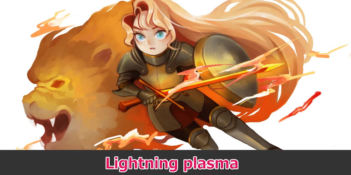 Lightning plasma